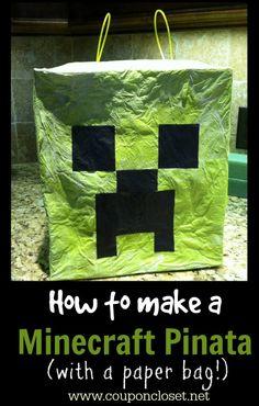 How to Make a Minecraft Pinata
