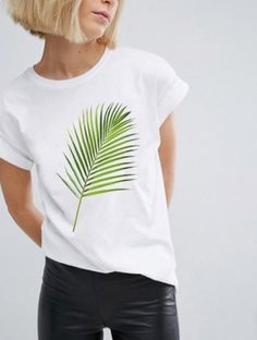Swans Style is the top online fashion store for women. Shop sexy club dresses, jeans, shoes, bodysuits, skirts and more. Shirt Print Design, Tee Shirt Designs, T Shirt Painting, Latifa, Wardrobe Basics, T Shirt Diy, T Shirts For Women, Clothes For Women, Diy Clothes