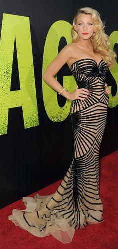 Get Blakes look at www.Rawglitter.com Tayla Black & Gold Bandage Dress http://www.rawglitter.com/collections/bandage-dresses/products/tayla-black-gold-bandage-dress
