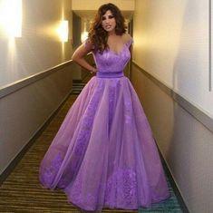 Appliques Off-the-Shoulder Tulle Prom Dresses 2017