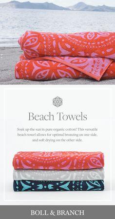 You've never felt a beach towel quite like this.