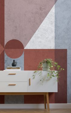 This modern collection of murals has been selected for its ability to add texture & depth to the walls of a room and bring out the inner stylist in anyone.