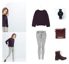 """""""Untitled #110"""" by onmytoesforalex ❤ liked on Polyvore featuring Topshop, Wet Seal, The Row and Uniform Wares"""