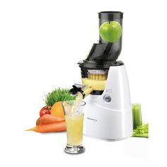 juicers cold press juicers for nutrient dense fruit & vegetable juiceWe have chosen to stock the Kuvings Cold Press Juicer range for their quality & unique features. The Wide Mouth Whole Food Juicer allows you to juice whole apples, carrots List Of Vegetables, Different Vegetables, Best Juicer To Buy, Centrifugal Juicer, Cold Press Juicer, Electric Juicer, Clear Plastic Containers, Eating Raw, Easy Cooking