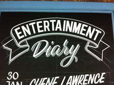 #handpainted #signwriting #brushes #signage #signpainting #chalkboard #1shot #alwayshandpainted by Gary Heard