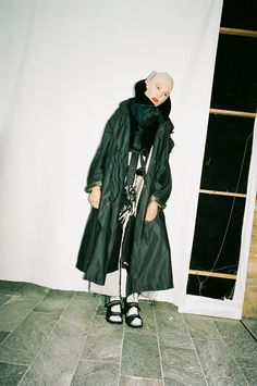 i-Think: Caroline Newell on CSM | i-D Online Inside Out, Collars, Stylists, Raincoat, Editorial, Pockets, Awesome, Fashion, Pictures