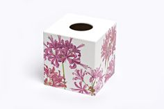 crackpots Winter Fox Tissue Box Cover wooden handmade