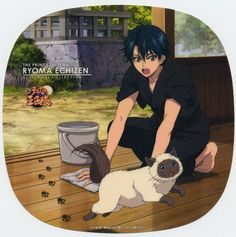 Prince of Tennis: Ryoma & Karupin only animal lovers will understand
