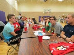 Donor Cafe at Butler blood drive. — at Vandalia Butler High School.