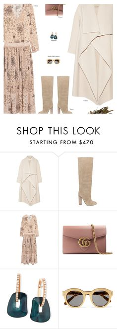 """""""Untitled #4202"""" by amberelb ❤ liked on Polyvore featuring Chloé, Gucci, Mattioli, STELLA McCARTNEY and Nearly Natural"""