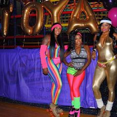 Toyas80sskateparty RollinwithToya Cc Karencivil Iamminglee 90s Party 80s Costumes