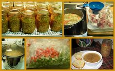 The Iowa Housewife: Home Canned Ham & Bean Soup