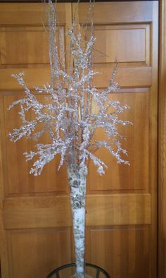 Icy/Snow Branches Centerpiece