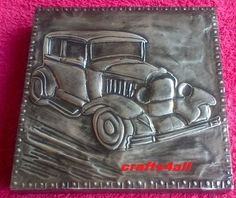 Old Car - We are situated in South Africa - Ravenswood. Boksburg. - We give Hand Metal Embossing Lessons. Pop Us a Mail for More Info. Visit Our Websites. www.crafts4all.co.za and www.woodwarehouse.co.za.