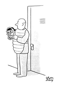 Classic New Yorker cartoon by Chon Day