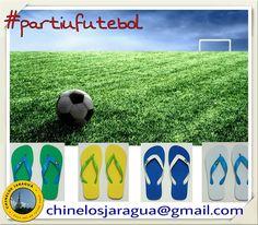 Partiu futebol - www.facebook.com/chinelosjaragua