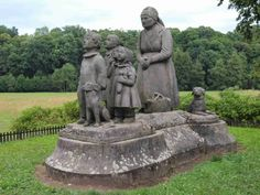"Babiččino údolí ""Stastna to zena! Central Europe, Czech Republic, Prague, Garden Sculpture, Germany, Places, Travel, Beautiful, Bohemia"