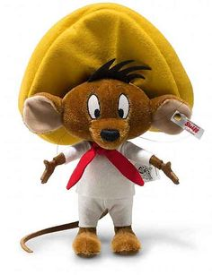 Steiff Speedy Gonzalez Limited edition.    A wonderful interpretation of this famous Warner Brothers character, made in high quality brown mohair.