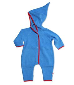 Periwinkle Cozie Baby Elf Suit