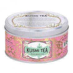 Rose green tea from Kusmi Tea.
