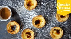 How to Make Pastéis de Nata AKA Portuguese Custard Tarts | Cupcake Jemma - YouTube