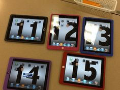 10 iPad Tips for the Classroom: Put the computer # as the wallpaper so there is no confusion!