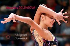 Alexandra SOLDATOVA (Russia) ~ Ball @ Euskalgym 10/'16 Photographer Alessandro Squassoni.