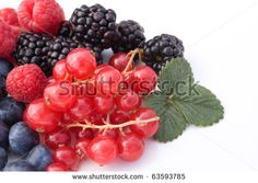 Fruits - Mix of red soft fruits isolated on white background.#foodphotos #stockphotos #healthyfood #foodingredients #fruits #ItalianFood #Shutterstock #bio #naturalfood #eatingwell