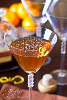 Cocktails We Love: Spiced Manhattan