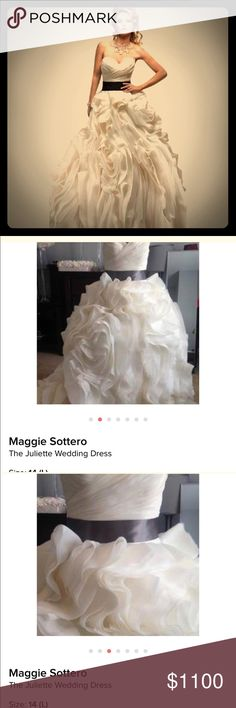 """Maggie Sottero wedding dress This is a Maggie Sottero """"Juliette"""". Maggie Sorento Other"""