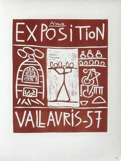 AF 1957 - Exposition Vallauris Sammlerdrucke von Pablo Picasso bei AllPosters.de