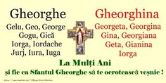 La multi ani de Sfantul Gheorghe! Special Events, Georgia, Memes, Happy Birthday, Birthday, Quotes, Meme