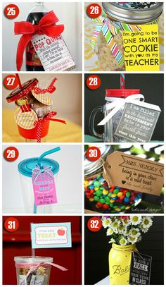 Easy Teacher Gift Ideas for the 1st day of School