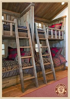 love bunk beds by holly