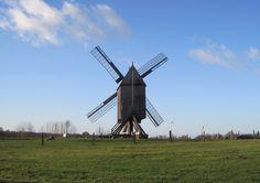 alte Windmühle in Niedersachsen   Flickr - Photo Sharing!