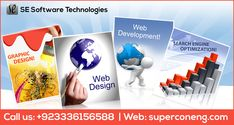 #SE #Software #Technologies is a #successful #Website #Designing and #Development #Company in #Pakistan. We provide #proactive and result oriented website design, #development services for companies and #organisations of all sizes in all sectors. Visit our site: http://superconeng.com/