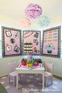 Schoolgirl Style and Creative Teaching Press teamed-up on some adorable BW Collection classroom decor ideas!