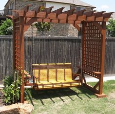1000+ images about Porch Swing Pergola on Pinterest ...