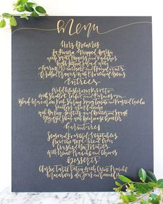 A Fabulous Fete: recent work // calligraphy