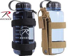 onetigris Outdoor Botella plana Molle Cantimplora funda 32/ oz Botella Carrier