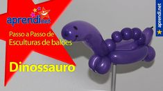 Aprendi.net: Esculturas de Balões - Dinossauro