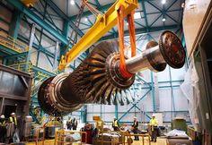 Le meraviglie dell'ingegneria meccanica. Che spettacolo!