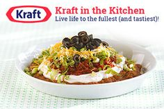 Kraft Foods offers a large selection of food items that will expand your menu beyond the average hot dogs and hamburgers.