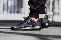 new arrival a5e63 83a53 An Understated Nike Roshe One Jacquard In Dark Grey (KicksOnFire.com)