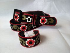 Ethno - chic leather belt and bracelet Ethno Style, Belt, Chic, Bracelets, Leather, Accessories, Fashion, Belts, Shabby Chic