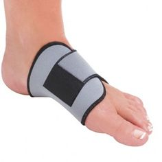 Adjustable Arch Support for fallen arches, plantar fasciitis, flat feet