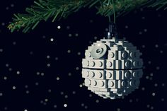 Death Star lego ornament