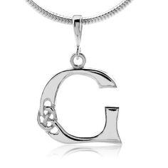 Keltský stříbrný přívěsek Vesper na krk písmeno G PRMP13860 Box, Bracelets, Silver, Jewelry, Fashion, Moda, Snare Drum, Jewlery, Money