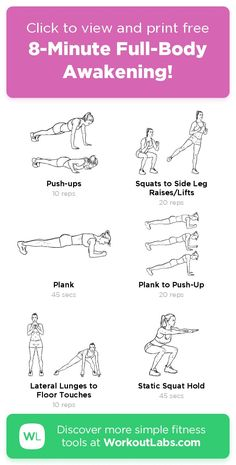 Body Workouts, Workout Routines, Workout Videos, Fitness Life, Fitness Nutrition, Fitness Motivation, Total Body, Full Body, Easy At Home Workouts