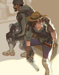Blackwatch: Mcree & Reaper